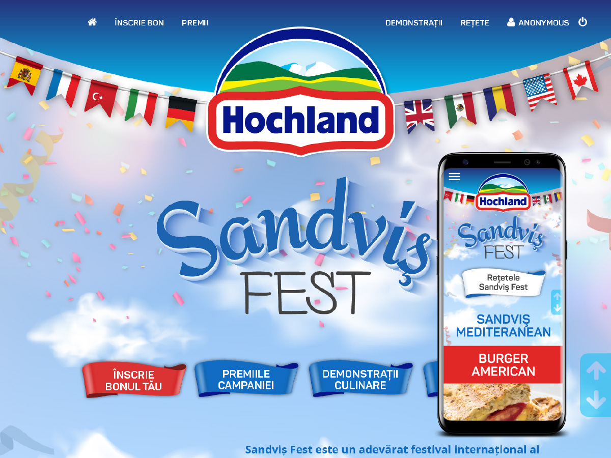 digital agency - woopy media -sandvis-fest-hochland